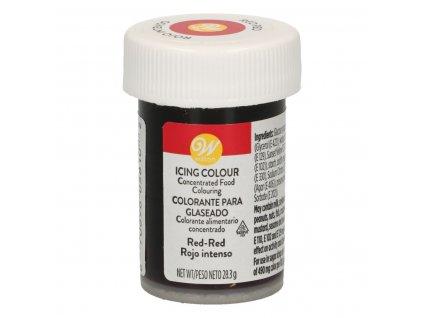 5664 1 gelova farba 28g w red cervena