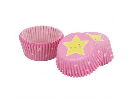 5925 1 kosiky na muffiny 50ks hviezda