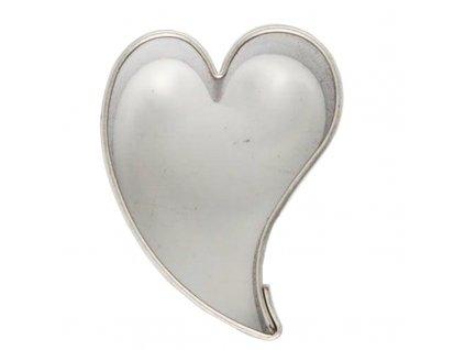 6063 1 kovova vykrajovacka srdce 3cm