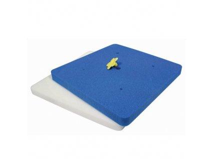 6153 1 penova podlozka modro biela
