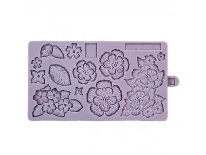 6255 2 silikonova forma karen davies brush embroidery