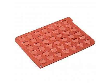 6300 2 silikonova podlozka na makronky srdce silikomart