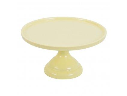 6330 1 stojan na tortu yellow