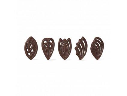 6468 1 cokoladova dekoracia filigrany 2 5x4 5cm cca 310ks 71202