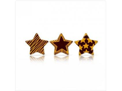 6480 1 cokoladova dekoracia cokoladka mix 3x4 5cm 230ks 71530