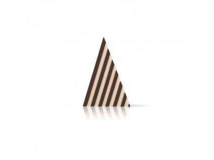 6486 1 cokoladova dekoracia domino trojuholnik 3 4x4 9cm cca 314ks 72104