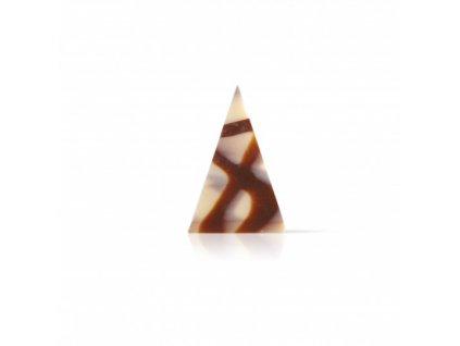 6492 1 cokoladova dekoracia mix trojuholnik 3 4x5cm cca 290ks 73227