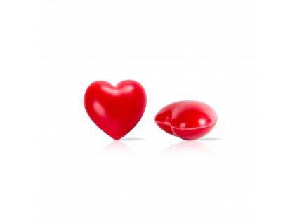 6504 1 cokoladova dekoracia 3d srdce 80ks 77376