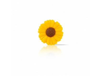 6531 1 cokoladova dekoracia v tvare 2d slnecnice pr 3 7cm 90ks 78248