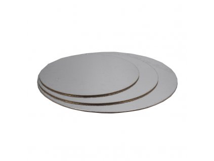 6621 1 podnos pevny strieborno zlaty kruh pr 40cm