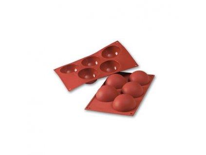 6825 1 silikonova forma pologule pr 8cm sf001