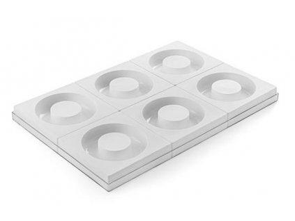 6924 2 silikonova forma savarin 180 6 o180 60 h 50mm x 6