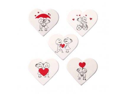 Valentínske srdiečka