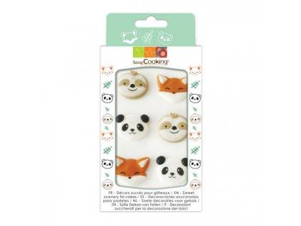 SC7014 cukrová dekorácia zvieratká