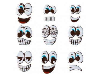 Čokoládové oči a ústa 90ks