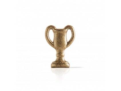 čokoládová dekorácia zlatý pohár 45x32mm 150ks (78340)