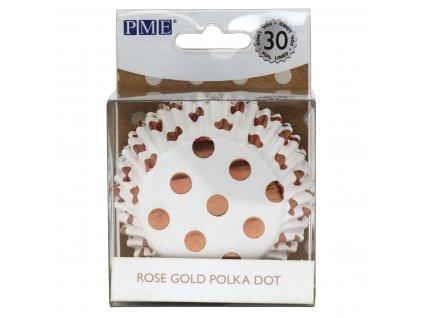 BC835 0 Košíčky na muffiny Zlatá bodka