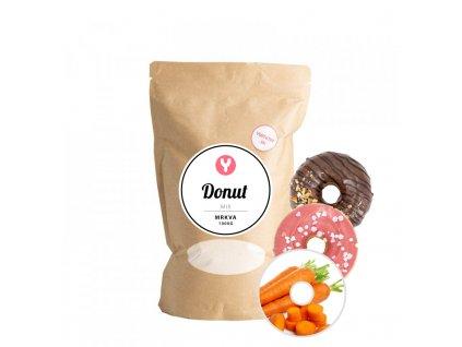 yummy donut carrot