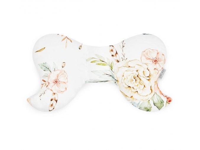 Polštář motýl- Vintage květy