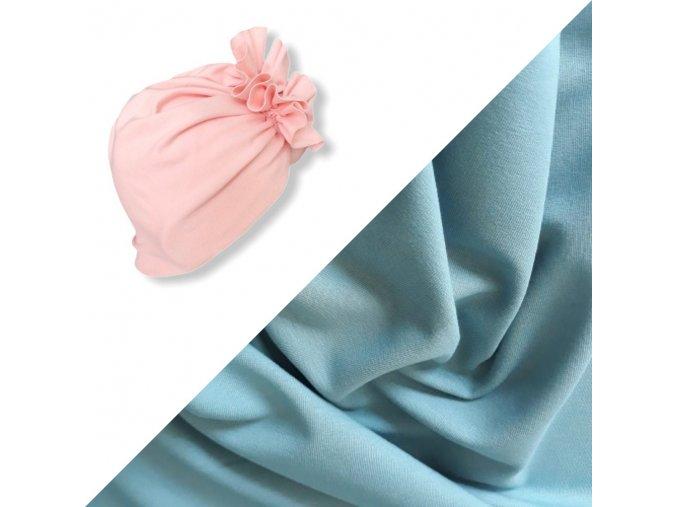 Turban- modrý