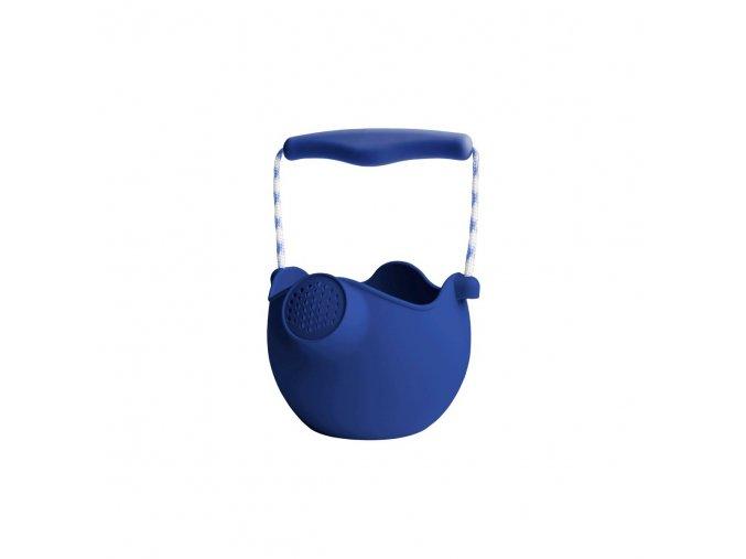 Silikonová konvička- Modrá
