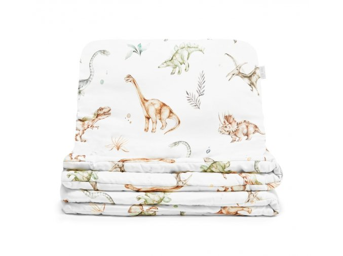 Bavlněný ložní set- dinosaurus