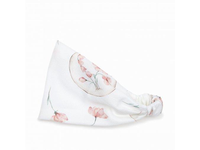 Bambusový šátek s gumičkou- illusion