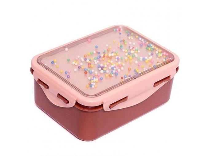 Snídaňový Lunchbox- Desert Rose