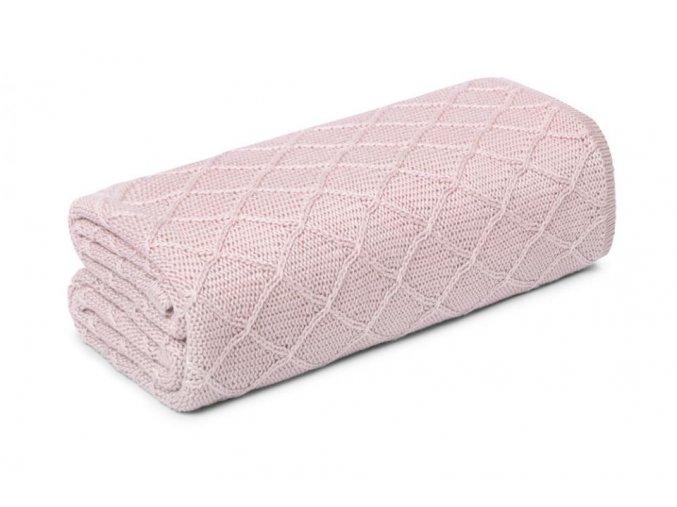 Lehká bambusová deka- pudrová