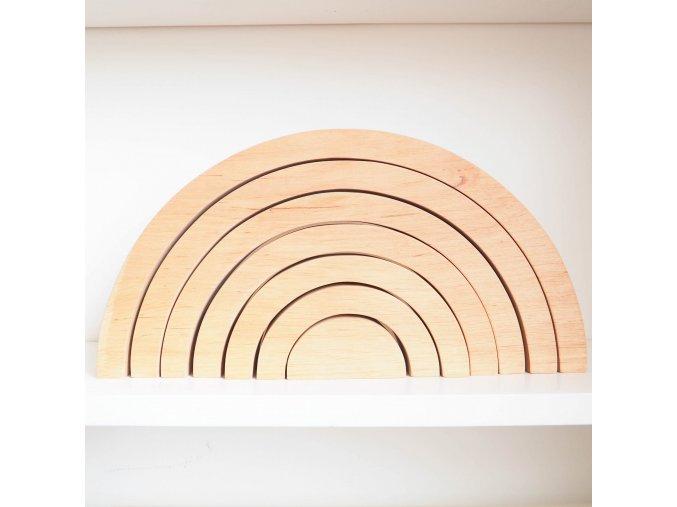 Dřevěná duha- Natural
