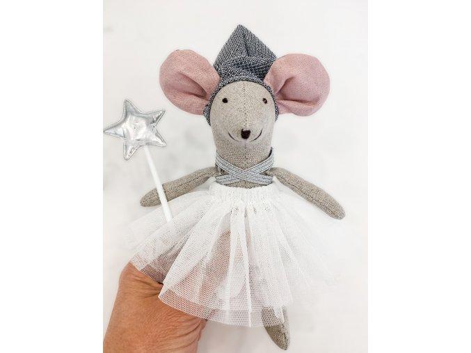 Handmade myška Clair