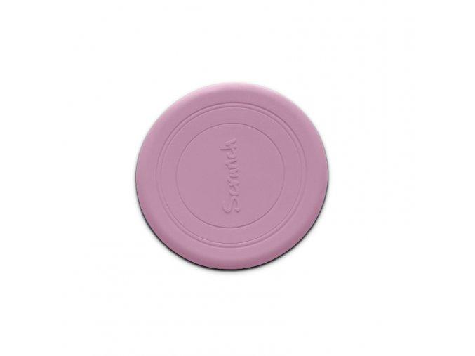 Frisbee- Pudrově růžové