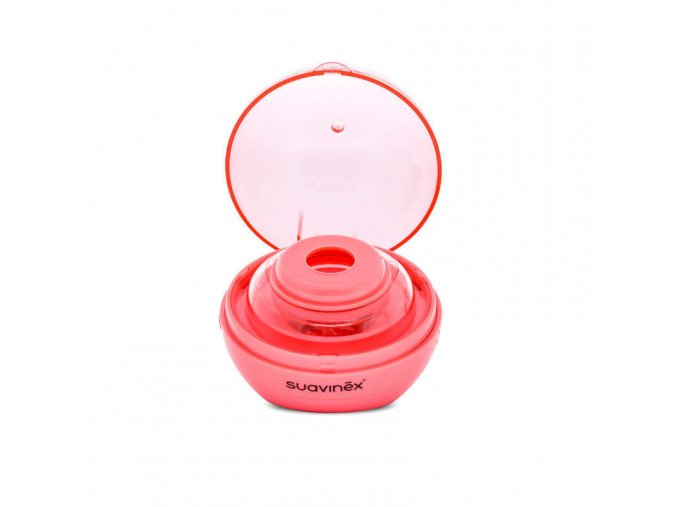 UV sterilizátor na dudlíky- růžový
