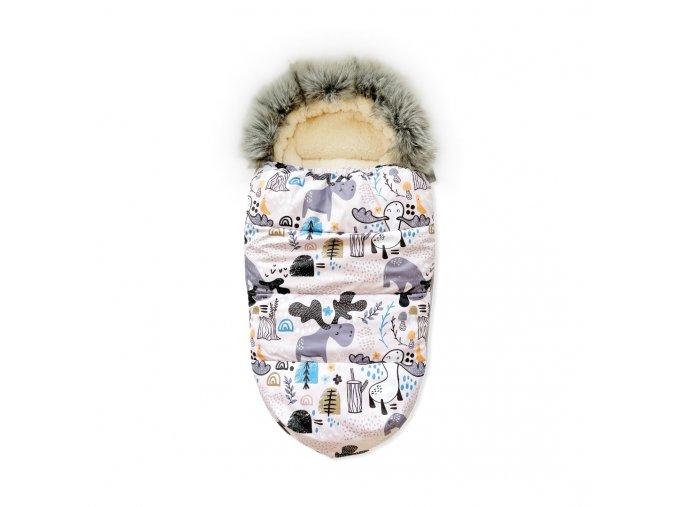 Univerzální zimní fusak- sobi