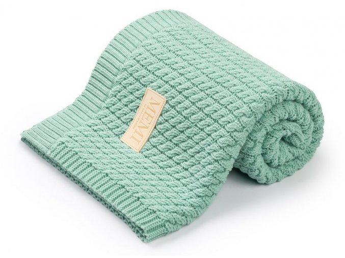 Bavlněná deka- mintová