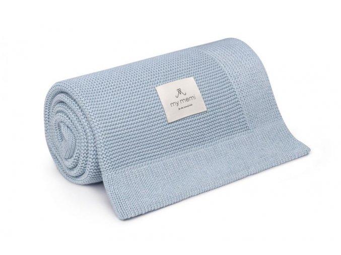 Bambusová deka- sv.modrá
