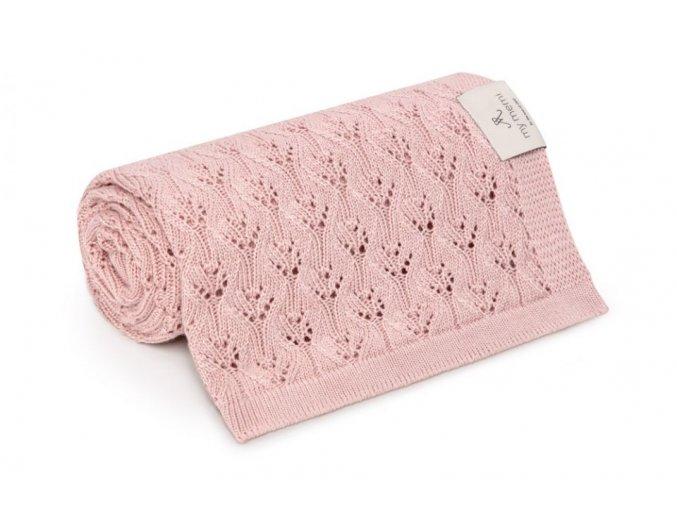 Bambusová deka- růžová