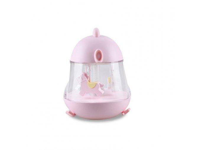 Svítící hrací skříňka- růžová