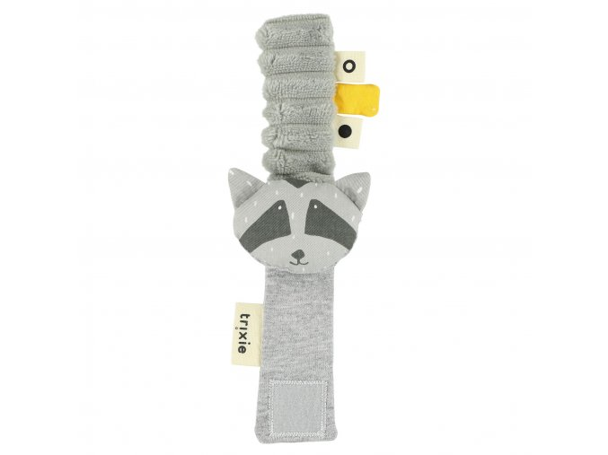 Chrastítko na ruku- Mr. Raccoon
