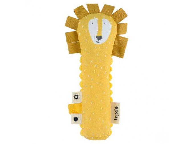 Pískací hračka Trixie- Mr. Lion