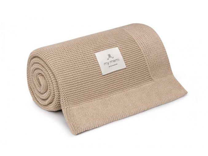 Bambusová deka- beige