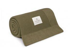 Bambusová deka- Khaki