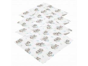 4- pack mušelínové plenky- Koala