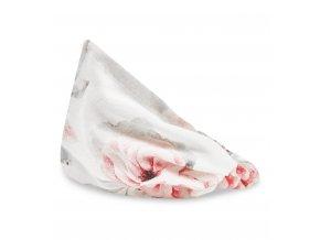 Bambusový šátek s gumičkou- blossom