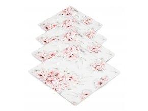 4- pack mušelínové plenky- blossom