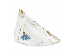 Bambusový šátek s gumičkou- herbal
