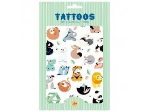 Tetování Wild Animals