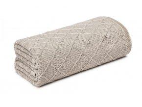 Lehká bambusová deka- béžová