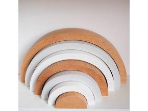 Dřevěná duha- White