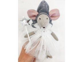 Handmade myška Daisy